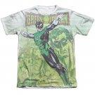 Green Lantern Vintage Leap Sublimation T-Shirt White