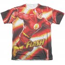 The Flash Speed Bolt Sublimation T-Shirt White