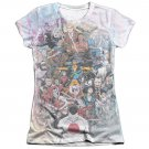 Valiant All Accounted For Juniors Sublimation T-Shirt White