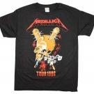 Metallica Tour '86 T-Shirt Black