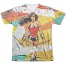 Wonder Woman Hands Full Sublimation T-Shirt White