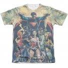 Justice League Power Sublimation T-Shirt White