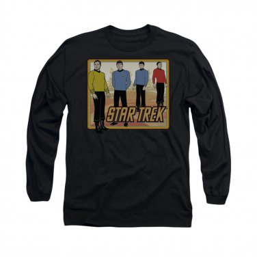 Star Trek TOS Classic Long Sleeve T-Shirt Black