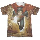 Superman Up Up City Sublimation T-Shirt White