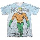 Aquaman Classic Aqua Sublimation T-Shirt White