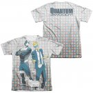 Quantum And Woody Bros 2-Sided Sublimation T-Shirt White