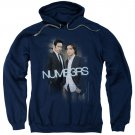 Numb3Rs Don &Amp; Charlie Pullover Hoodie Blue