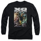 Xo Manowar Pit Long Sleeve T-Shirt Black