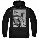 Green Arrow The Emerald Archer Pullover Hoodie Black