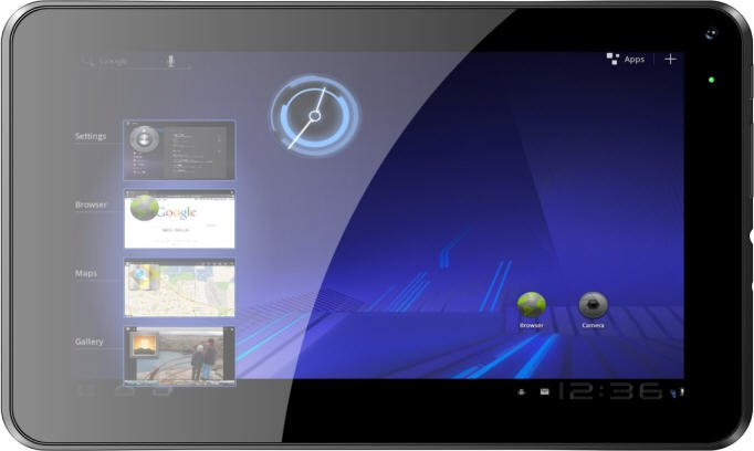 """4GB 7"""" Capacitive Dual Camera Tablet PC Boxchip A13 512MB 1.5GHz Wifi"""
