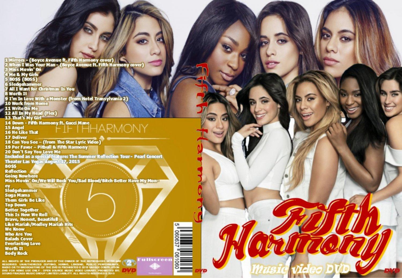 Fifth Harmony Music Video DVD