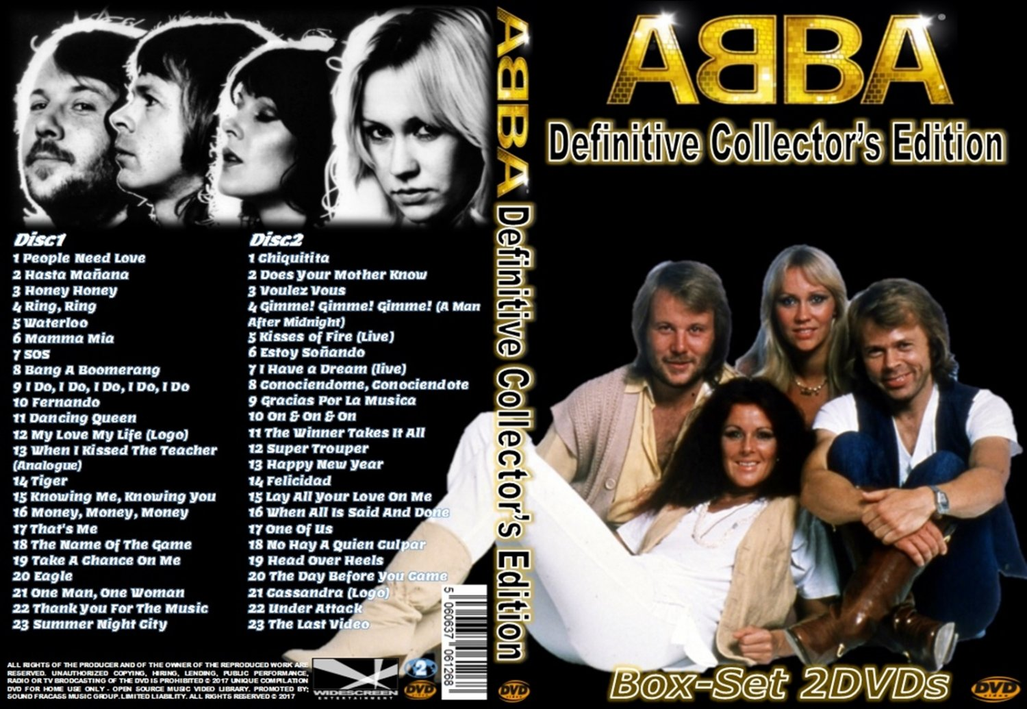 Abba Music Video Collector�s edition Box-Set 2DVDs