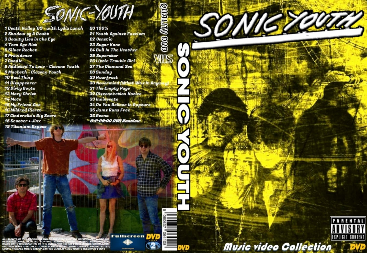 Sonic Youth Music Video DVD