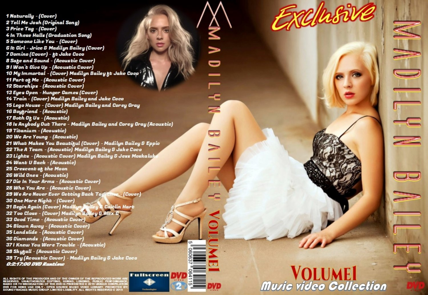 Madilyn Bailey Music Video DVD Volume1