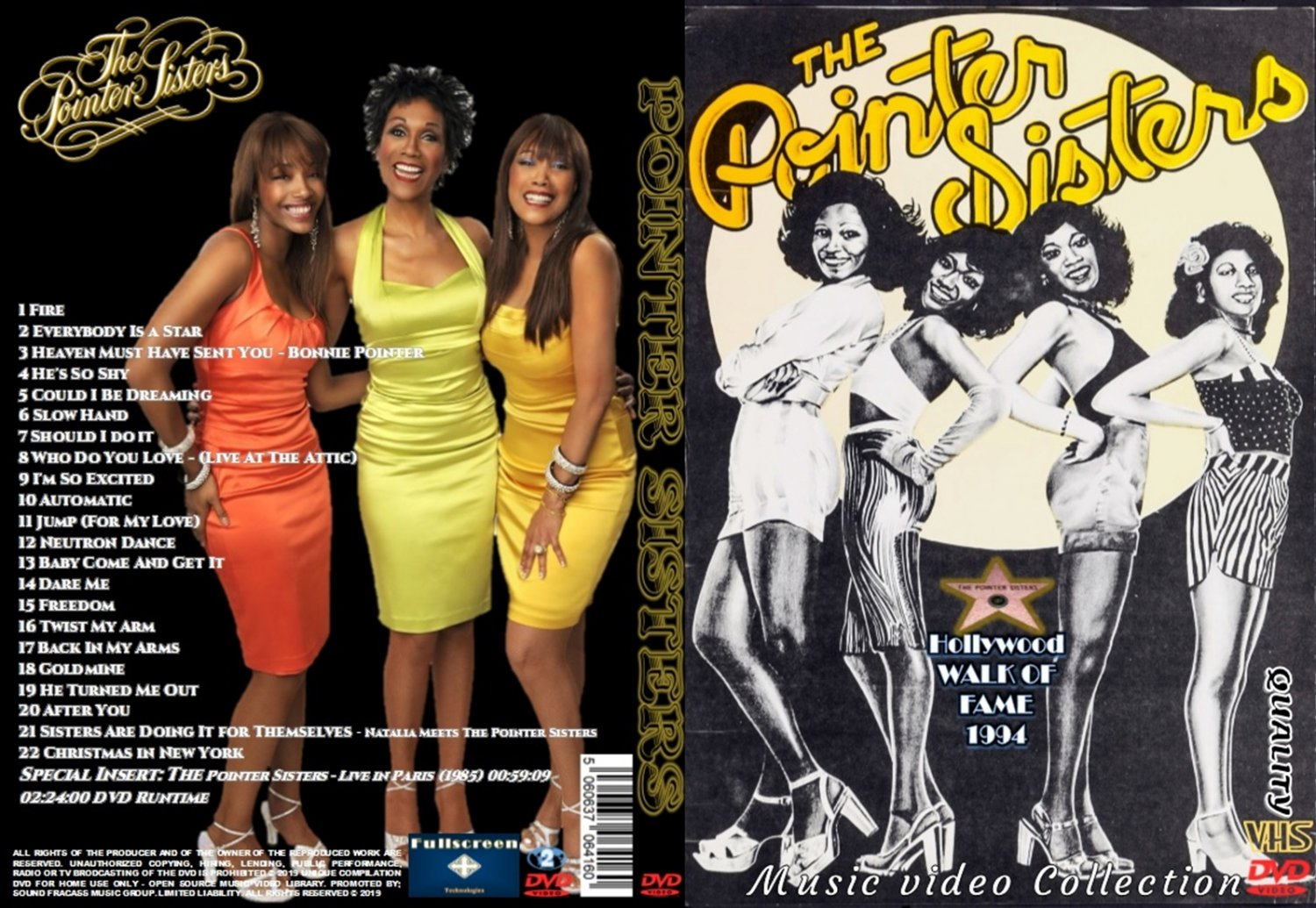 The Pointer Sisters Music Video DVD
