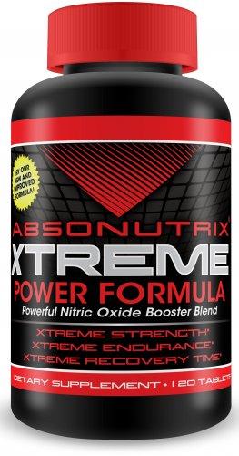 Absonutrix L-ARGININE Nitric Oxide 3000mg-90 Capsules