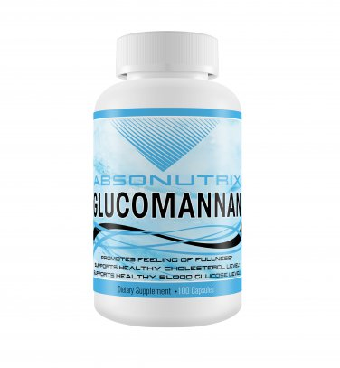 Absonutrix Glaucomnnan 100 cap promotes weightloss and healthy cholesterol level