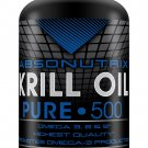 60 SG Absonutrix Krill Oil Pure 500mg Each Omega 3,6+9