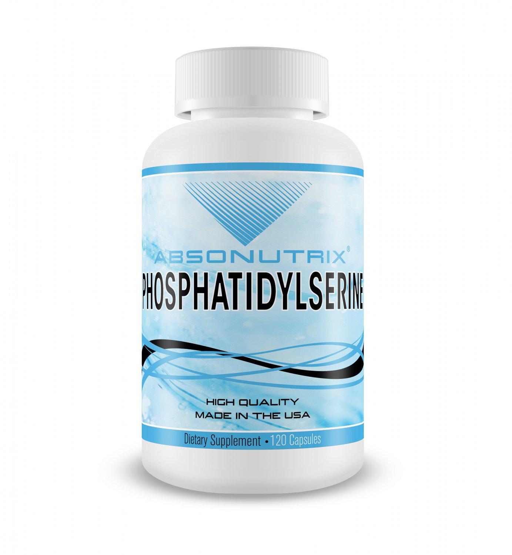 Absonutrix Phosphatidylserine 120 veggie capsules Made in USA