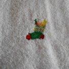 Embroidered Hand Towel - Christmas Stocking