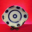 Antique Platter, Blue and White