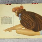 1948 Esquire Pin up CalendarA Moore Beautiful Models in Swimwear