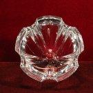 Vintage Orrefors Crystal Bowl Scalloped Rim Made in Sweden