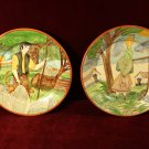 Charger Plates Woman Man Collectibles