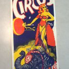 Franzen Brothers Circus Vintage Poster Woman Riding Elephant Clown # 2
