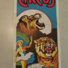 Franzen Brothers Circus Vintage Poster Woman Riding Horse Tiger Lion 2