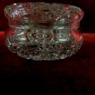 Crystal Vanity Dresser Jar and Lid Hostars Crosshatching
