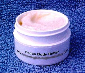 Hand Made Cocoa Butter Body Butter 1/2 oz Sample