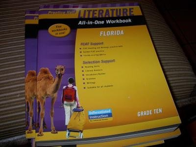 All-In-One Workbook Literature (Florida) Grade Ten Softcover FCAT Support and Selection Support