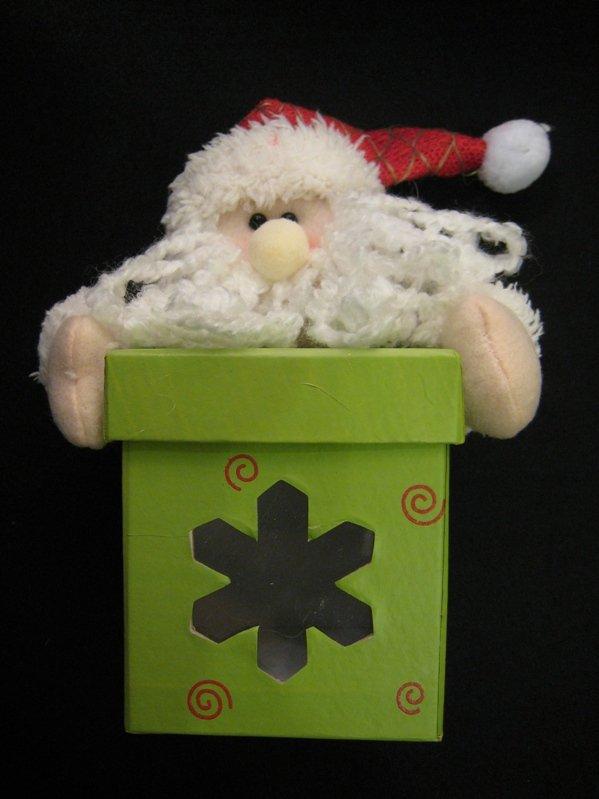 Christmas item - Santa Gift Box (Square)