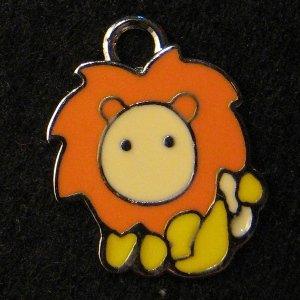 Leo Pendant (Orange/Yellow)