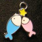 Pisces Pendant (Blue/Pink)