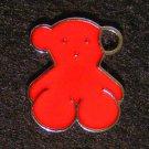 Bear Pendant (Red)
