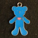 Bear Pendant (Blue)