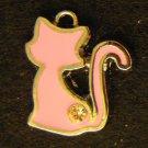 Cat Pendant (Pink)