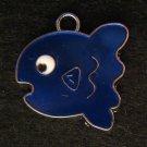 Fish Pendant (Blue)