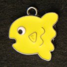 Fish Pendant (Yellow)