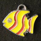 Fish Pendant (Yellow/Red)