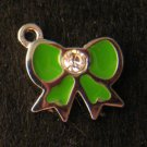 Bow Pendant (Green)