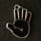 Palm Pendant (Black)