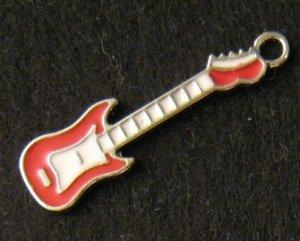 Guitar Pendant (Red)
