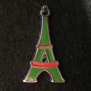 Tower Pendant (Green/Red)