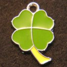 Lucky Clover Pendant (Green/Yellow)