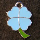 Lucky Clover Pendant (Light Blue/Green)