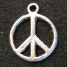 Peace Sign Pendant (Silver)