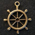 Steering Wheel Pendant (Antique Bronze)